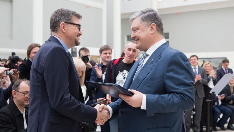 Випускник історичного факультету ДНУ – лауреат Шевченківської премії