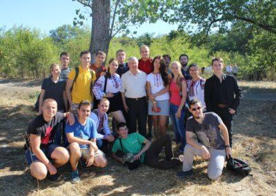 """Історичний факультет на фестивалі """"Самар-Дніпро-фест"""": екскурсоводи, археологи, журналісти..."""