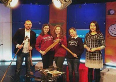 Студенти та викладачі історичного факультету в гостях на ефірі 51 каналу