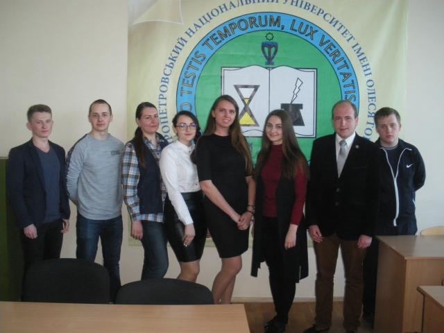 Підсумки наукової роботи студентів на кафедрі східноєвропейської історії