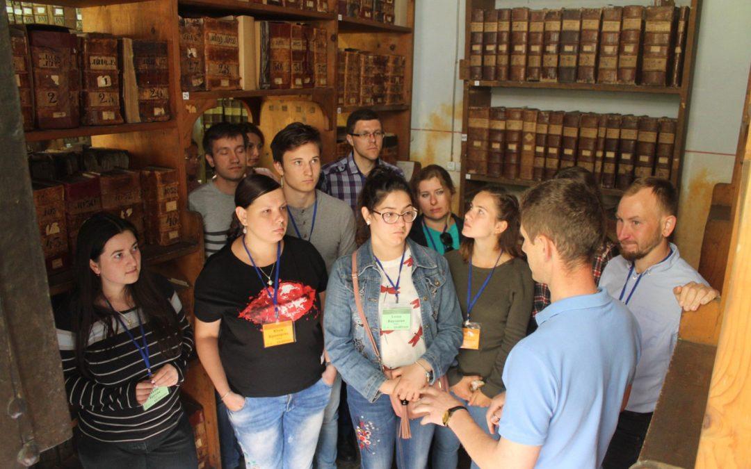Студенти історичного в Українському Католицькому Університеті