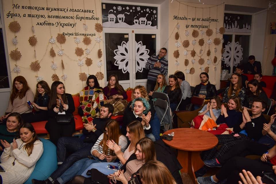 Акустичний вечір у Кузні української інтелігенції