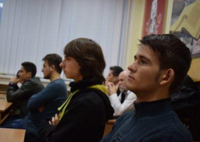 Слухачі на відкритій лекції професора О. Ф. Нікілєва