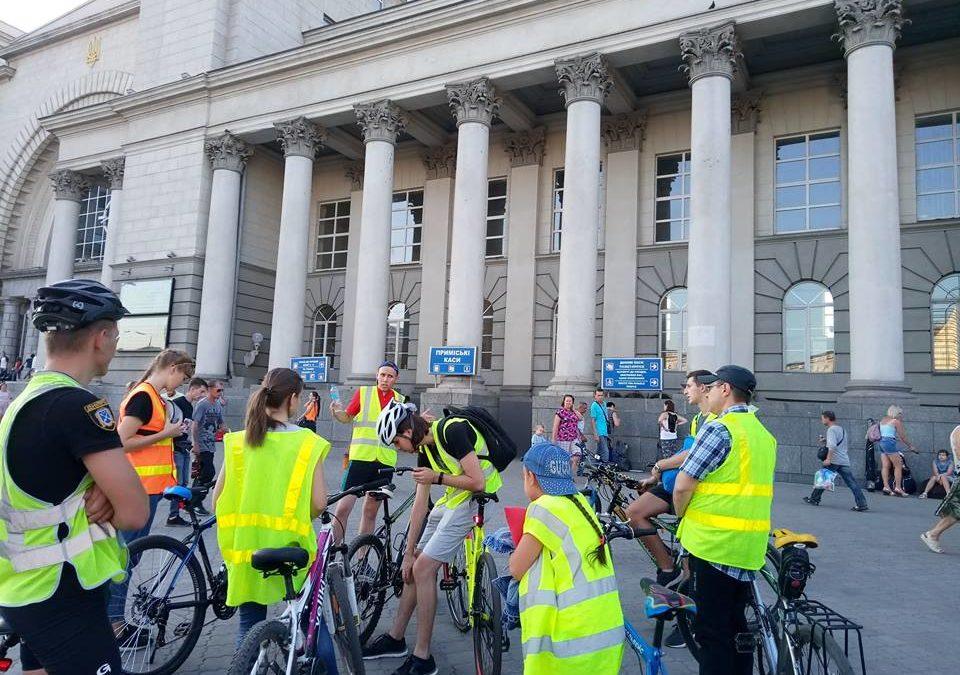 Велосипедна екскурсія від студентів-істориків